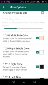 how to change whatsapp bubble color on android phone ug tech mag