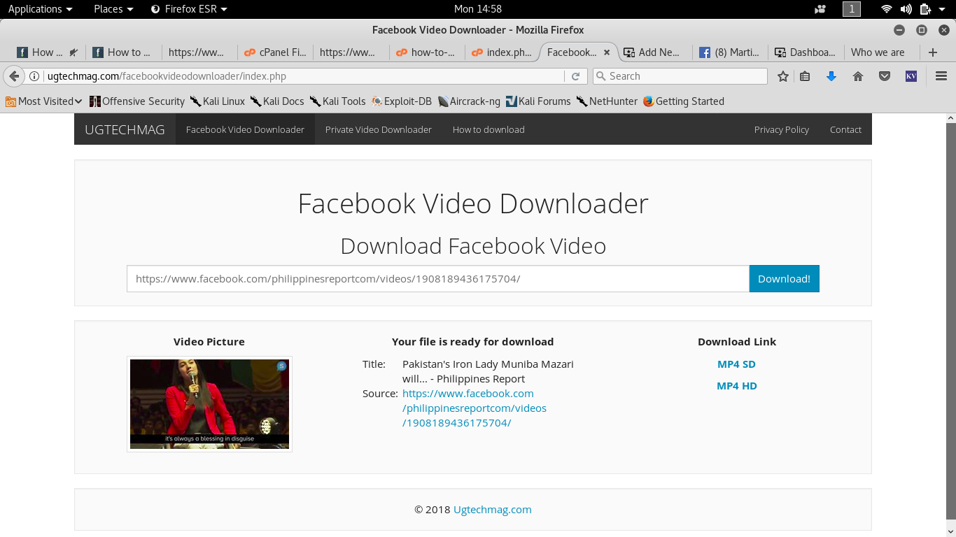 How to download videos from the Contact A few practical tips 68