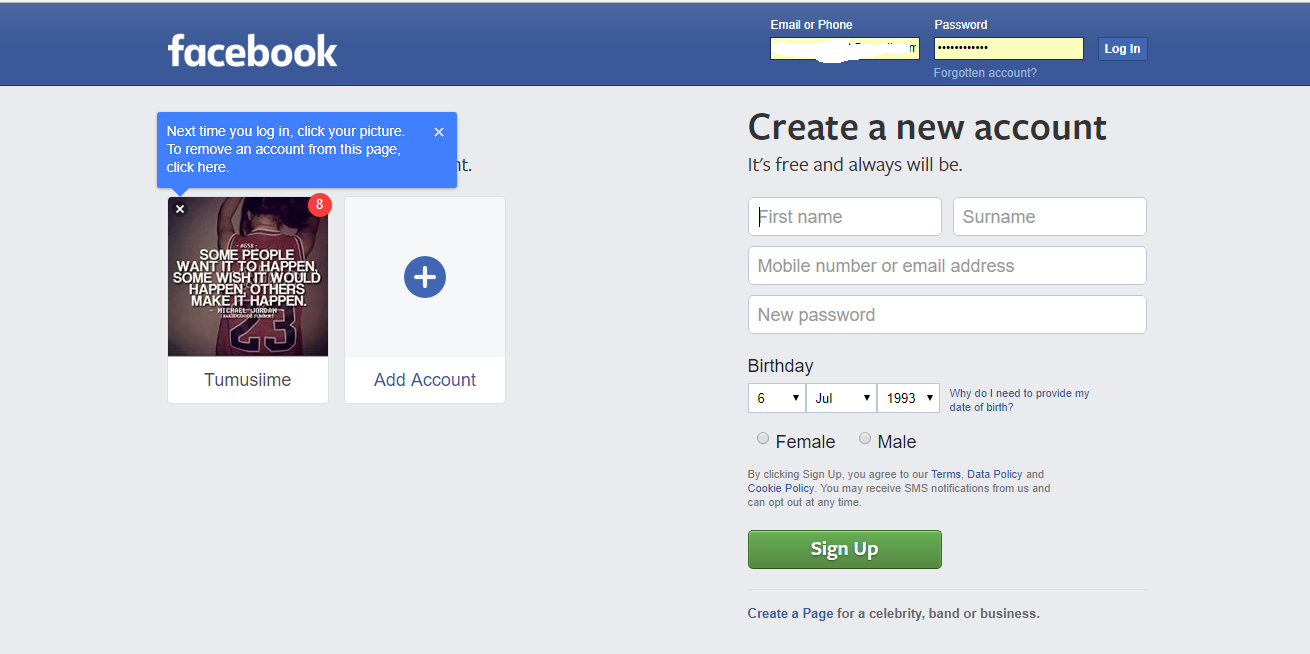 How to deactivate facebook account permanently in 2 steps login to facebook ccuart Image collections