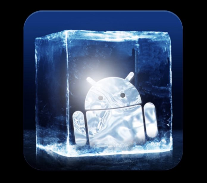 Freeze apps on Androids